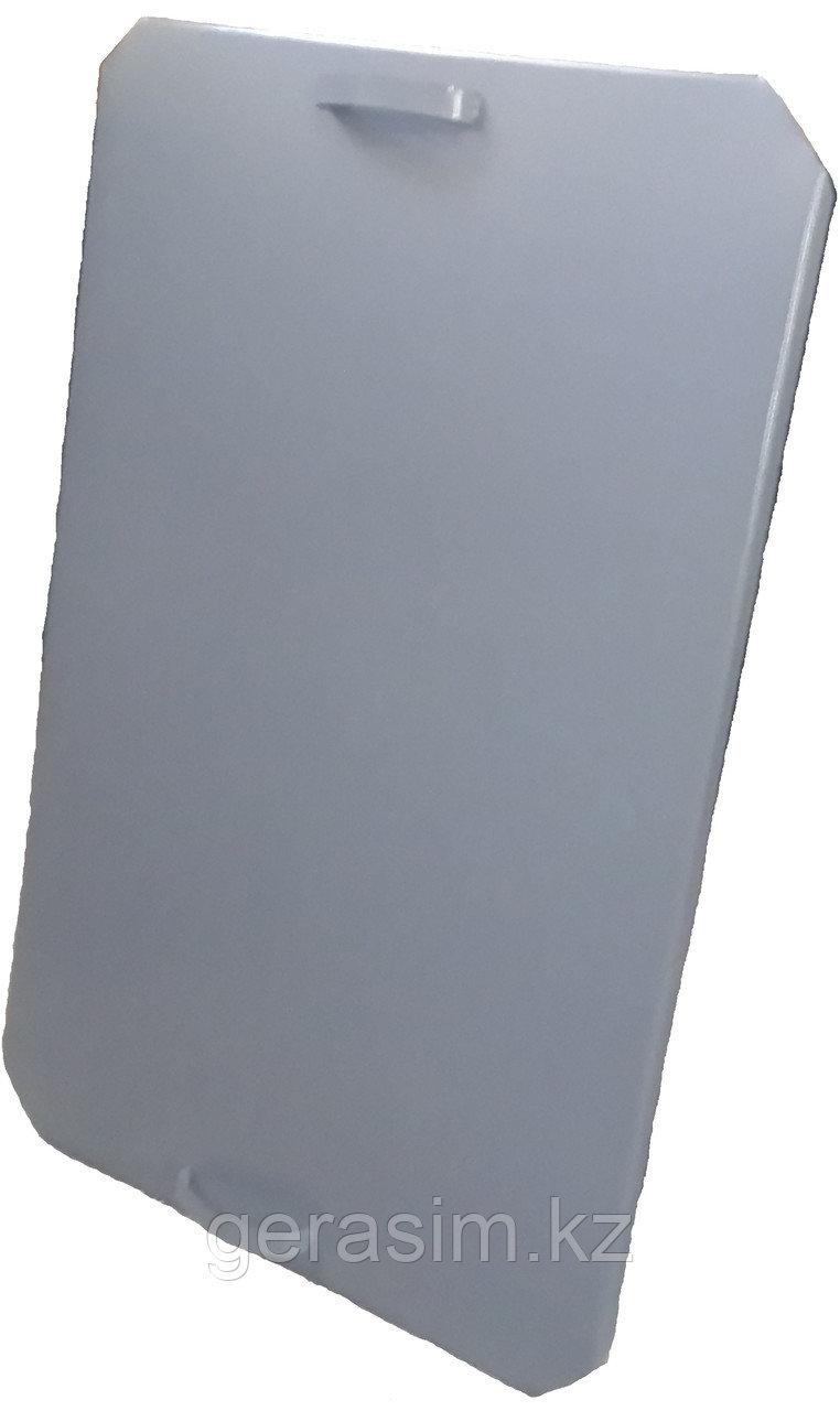 Крышка на мусорный контейнер 1,1 куб (евро)