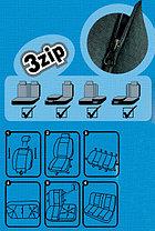 Чехлы на сиденья Piton LUX(Болгария) черные, серые, бежевые, фото 3