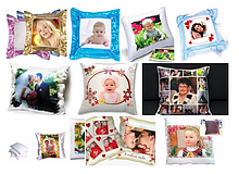 Подушки с Фотографиями Любимых Людей. Сшито с Любовью)