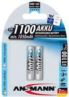 Аккумулятор ААА ANSMANN 1100 mAh 1.2V 2 шт в упаковке