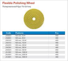 Алмазные круги для шлифования(черепашка) диаметром 100мм Rodex