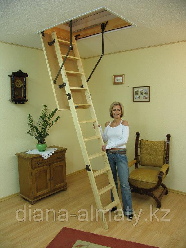 Монтаж чердачной лестницы и мансардных окон  т.87776574722