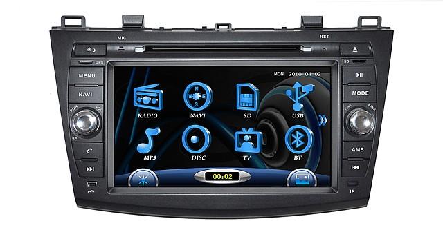 Штатное головное устройство Mazda 3