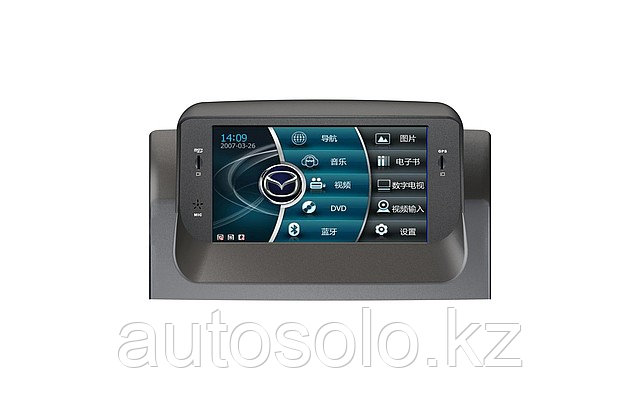 Штатное головное устройство Mazda 6