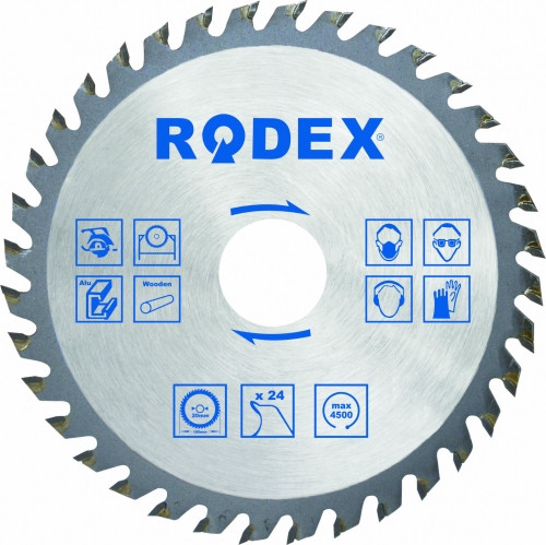 Диск по дереву Rodex 230x24Tx20mm