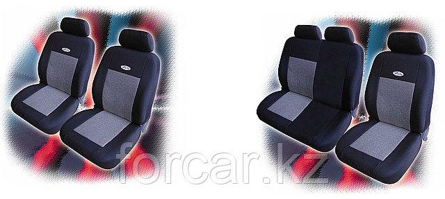 Чехлы для сидений микроавтобусов Piton Premium LUX 1+1,  Piton Premium LUX 1+2 (Болгария)