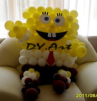 Детское украшение шарами
