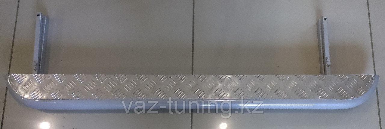 Пороги железные плоские с алюминиевым листом Нива LADA 4х4, Urban 4х4