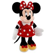Плюшевая Минни Маус в красном платье