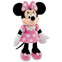 Плюшевая Минни Маус в розовом наряде