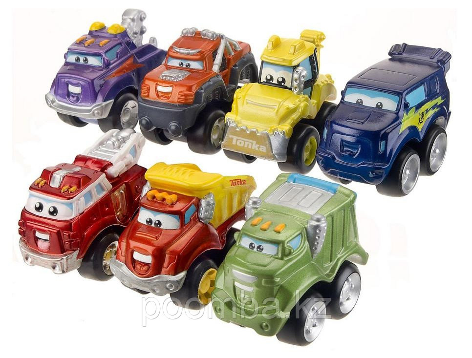 Машинки литые коллекционные Tonka. Чак и его друзья