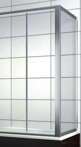 Боковая шторка на прямоугольную ванну хром/бел. 75*140