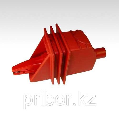 """Зажим """"Крокодил"""" изолированный красный К05 5kV SONEL WAKRORE20K05"""