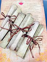 Пригласительные свертки под старину , фото 1