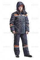 Костю зимний рабочий Комфорт т.серый/оранжевый (зимний)