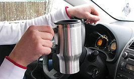 Кружка с подогревом от автомобильного прикуривателя