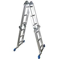 Лестница-трансформер СИБИН алюминиевая 4 x 3 ступ