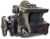 Привод гидронасоса - коробки отбора мощности (КОМ), колеса зубчатые, валы, шестерни, фланцы, кардан