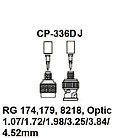 Pro`skit CP-336DJ Насадка для обжима CP-371 (RG174,179,8218, Optic), фото 3