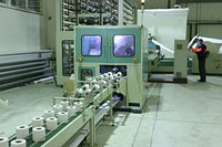 Монтаж цеха по производству туалетной бумаги и салфеток