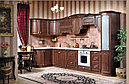 МАДЛЕН кухонный гарнитур, угловая,орех, фото 6