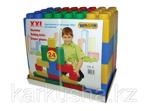 Конструкор строительный XXL, 24 элемента