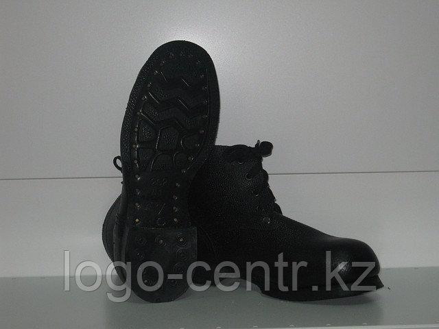 Ботинки юфте-кирзовые рабочие с металлическим подноском