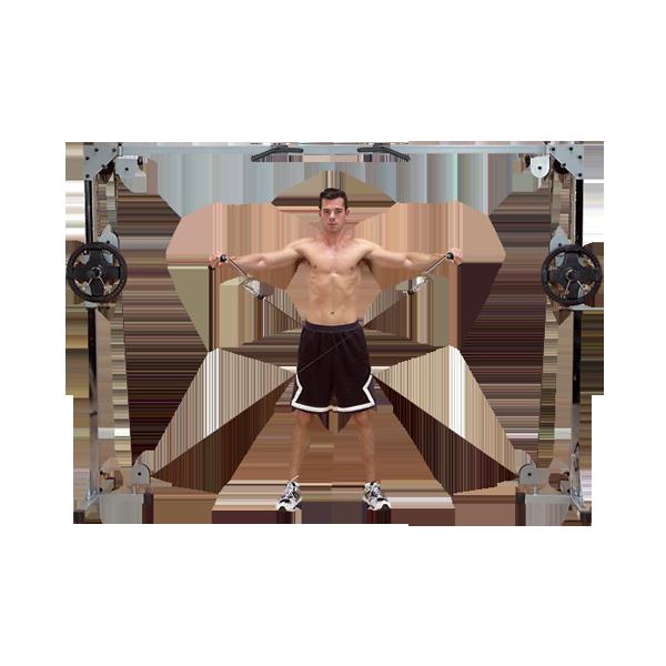 Кроссовер на свободных весах POWERLINE (PCCO90X)