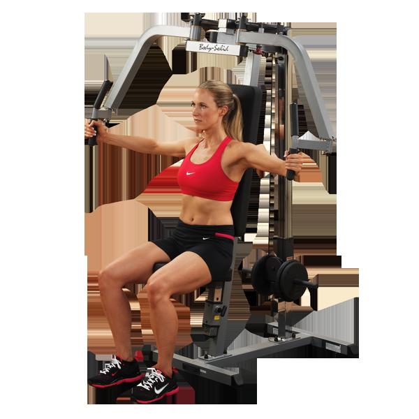 Тренажер для грудных и дельтовидных мышц на свободных весах ф26   (GPM65)