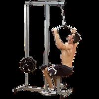 Тренажер верхняя \ нижняя тяга на свободных весах ф26 POWERLINE (PLM180X), фото 1