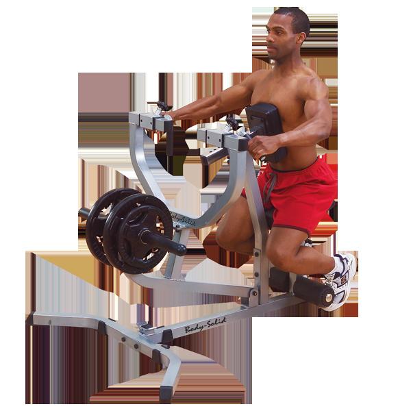 Тяга с упором в грудь на свободных весах ф26    (GSRM40)