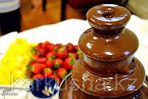 Шоколадный фонтан 4 яруса 40см