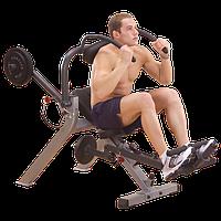 Тренажер для мышц брюшного пресса спины на свободном весе ф50 (GAB300), фото 1