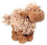 """Trixie (Трикси) 35933 Игрушка для собак плюшевая/ткань, пищащая, """"Овечка"""", 21см."""