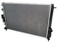 Радиатор охлаждения алюминиевый LADA Largus, RENAULT Logan 2008-, Sandero 2009-, Duster 2010- с А/С, паяный