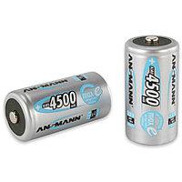 Аккумуляторы C Ansmann Max-E, NiMH, C (1.2V, 4500mAh) 2шт.