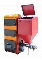 КУРГАН 25 А котел длительного горения с автоматической подачей топлива , фото 1