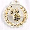 Медаль рельефная ВОЛЕЙБОЛ (серебро)