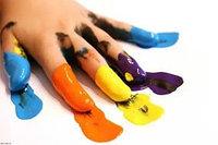 Пальчиковые краски 6 цветов, фото 1