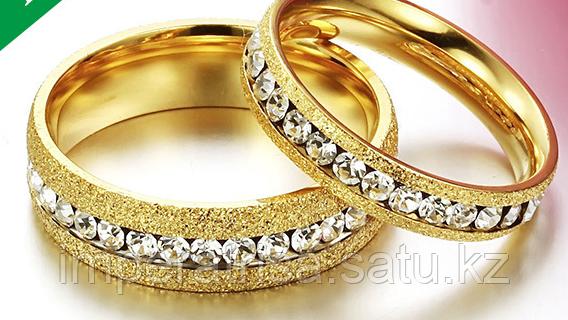 """Парные кольца для влюбленных """"Светлые чувства"""" 2*"""