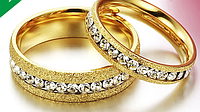"""Парные кольца для влюбленных """"Светлые чувства"""" 2*, фото 1"""