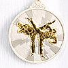 Медаль рельефная ТАЭКВОНДО (серебро)