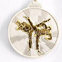 Медаль рельефная ТАЭКВОНДО (серебро), фото 1