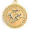 Медаль рельефная ЛЕГКАЯ АТЛЕТИКА (золото)