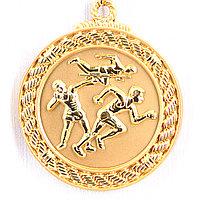 Медаль рельефная ЛЕГКАЯ АТЛЕТИКА (золото), фото 1