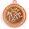 Медаль рельефная ЛЕГКАЯ АТЛЕТИКА (бронза)
