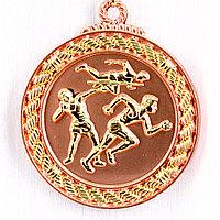 Медаль рельефная ЛЕГКАЯ АТЛЕТИКА (бронза), фото 1