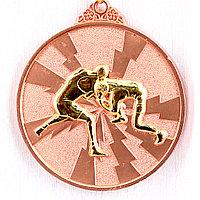 Медаль рельефная БОРЬБА (бронза), фото 1
