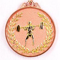 Медаль рельефная ТЯЖЕЛАЯ АТЛЕТИКА (бронза), фото 1