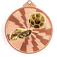 Медаль рельефная ФУТБОЛ (бронза), фото 1